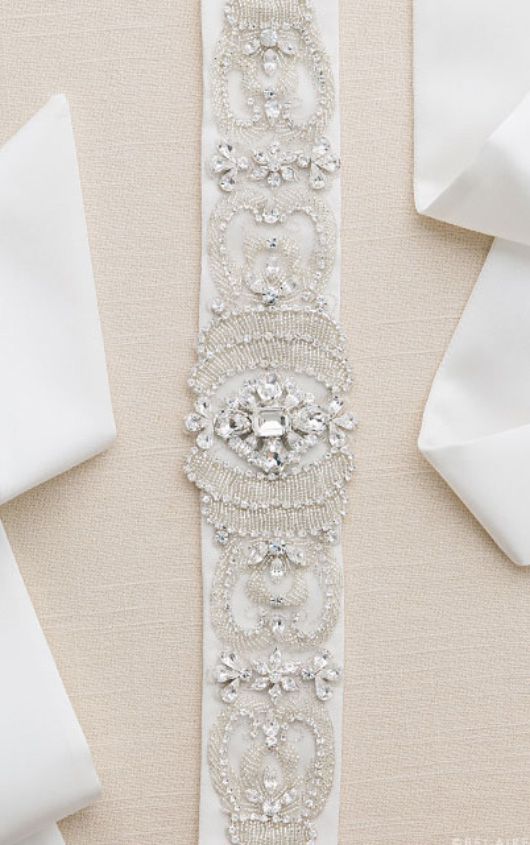 wedding dress belts